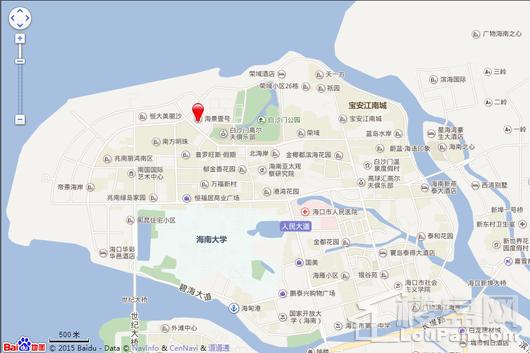 海景壹号电子地图