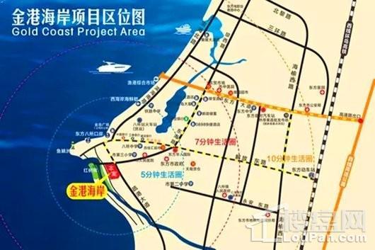 金港海岸交通图