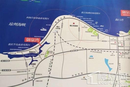 御泉湾交通图