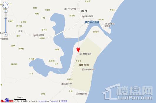 博鳌滨海小镇交通图