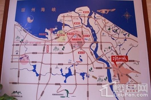 海南绿地城一期区位交通