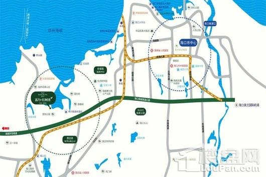 富力红树湾电子区位图