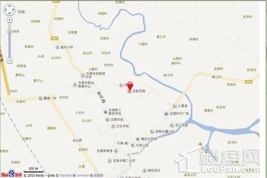 帝景湾电子地图
