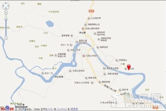 溪林雅居交通图