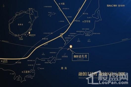 融创日月湾交通图