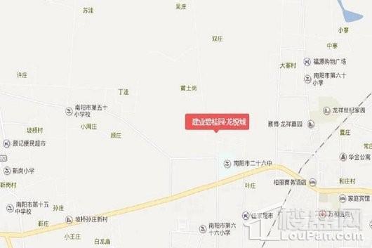 建业碧桂园·龙悦城交通图