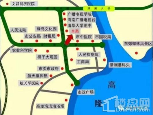 清澜茗都交通图