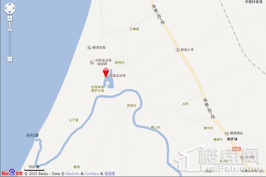 国信龙沐湾交通图