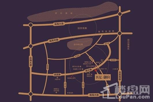 长弘御府区位图