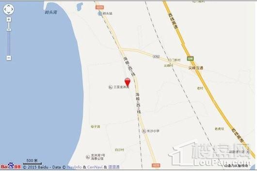 美好龙沐湾交通图