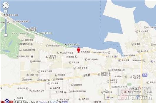南光·西海湾交通图