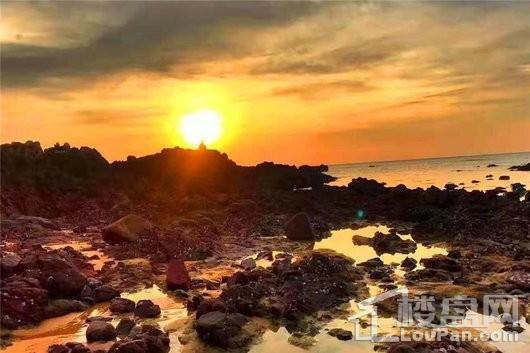 大观千舍周边 棋子湾夕阳景观
