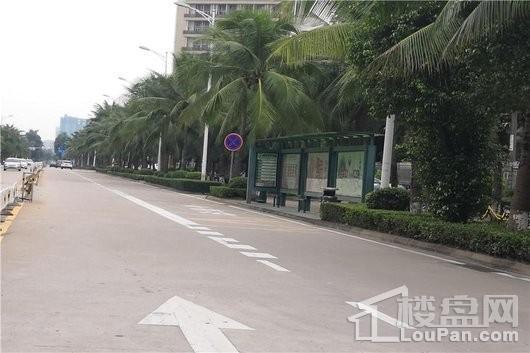 東方·天澜滙周边 昌炜玉园公交站