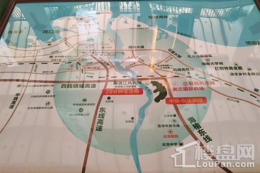 中信·台达国际交通图