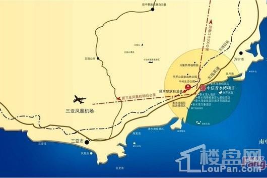 中信·香水湾交通图