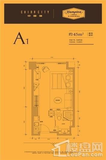 中国城户型图