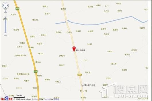 碧桂园椰城电子地图