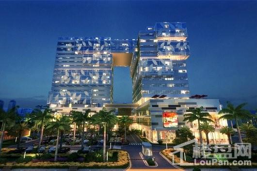 巨制国际公寓效果图