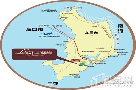 蓝湖海韵交通图