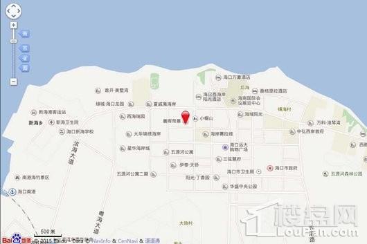 晨晖·帝景电子地图