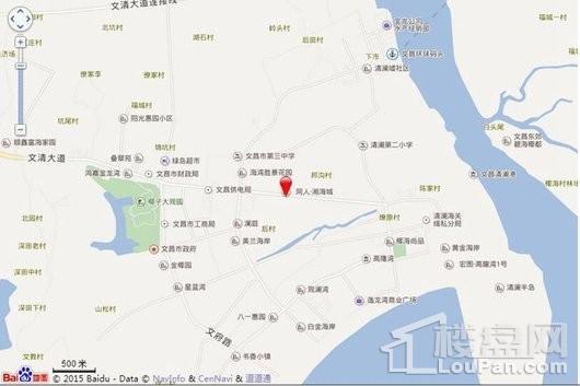 同人·湘海城交通图