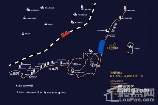 合景·汀澜海岸交通图
