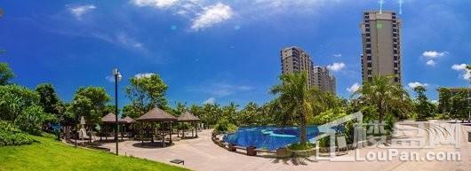 碧海蒙苑小区泳池区