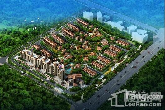 佳龙美墅湖文化旅游城·华侨星城效果图