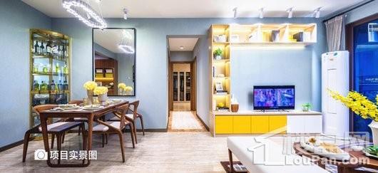 碧桂园金沙滩YJ100客餐厅实景图