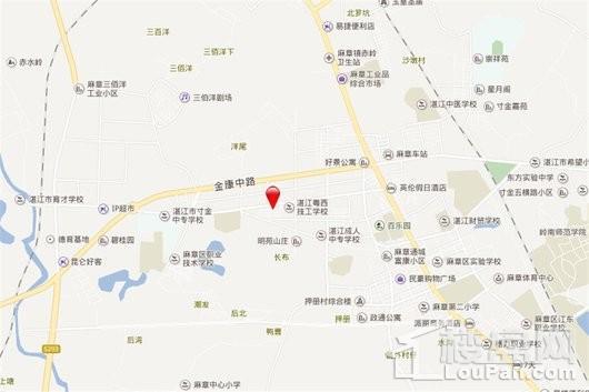 汇锦轩交通图