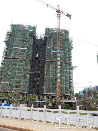 汇泽·蓝海湾在建楼栋