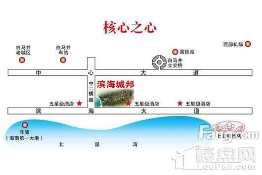 滨海城邦交通图