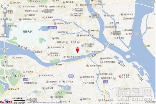 金隅大成·西溪里交通图