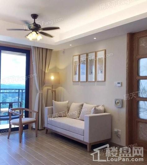 博鳌·美丽熙海岸43㎡一房实景图-客厅