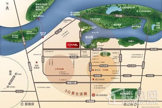 新城碧桂园·江山樾交通图