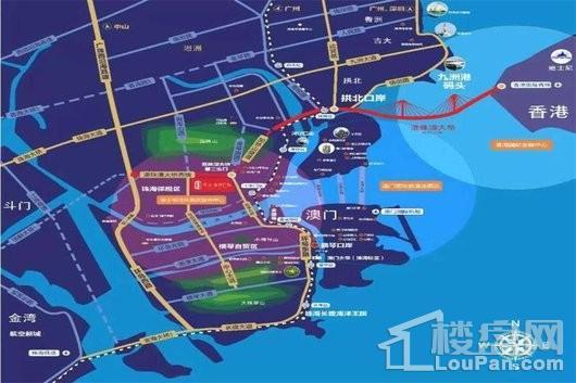 星汉·港湾国际交通图