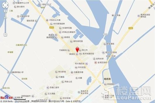 嘉珠·香海壹号交通图