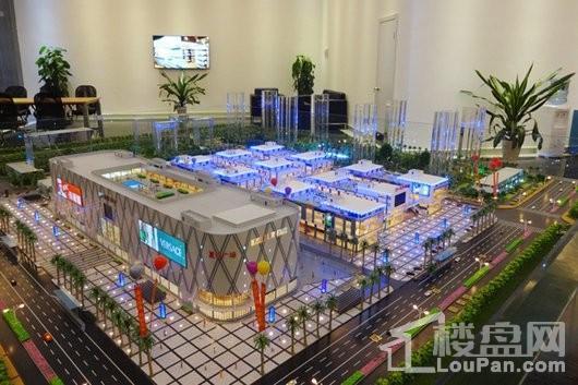 儋州夏日国际商业广场沙盘