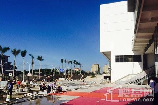 儋州夏日国际商业广场工程进度