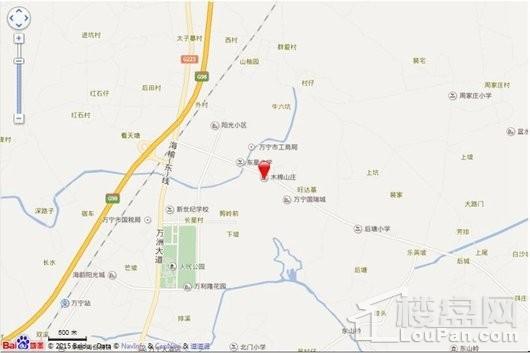 万宁·木棉山莊交通图