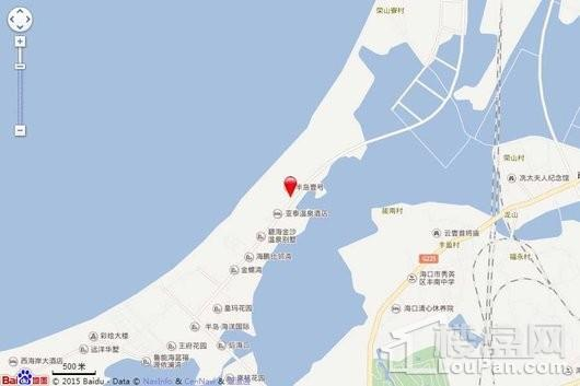半岛一号南区瞰海公寓交通图