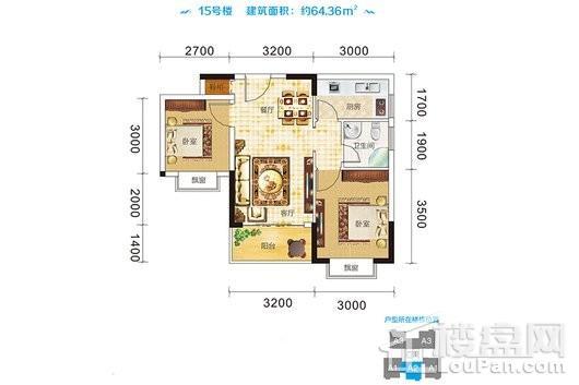 衍宏海港小镇户型图