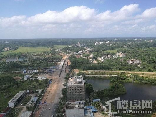 碧水南湾鸟瞰景观