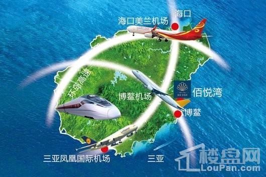 海南·佰悦湾交通图