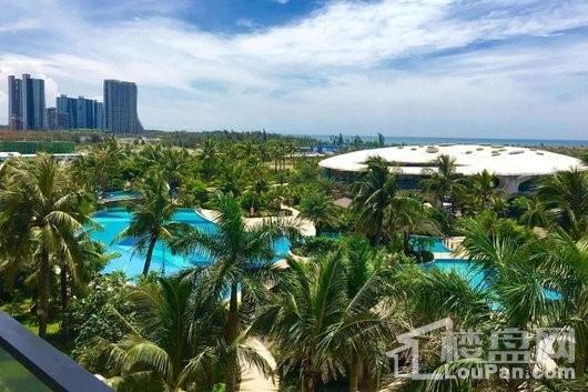 海南·佰悦湾小区景观
