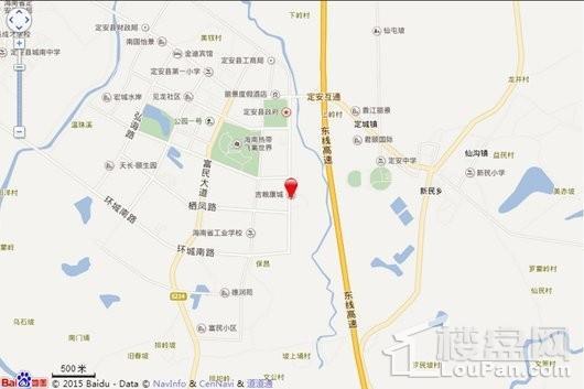 定安吉粮康城电子地图