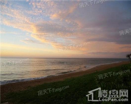 博鳌香槟郡小区海边