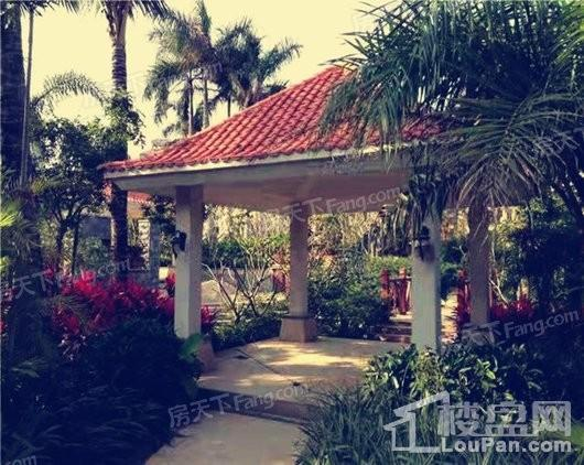 博鳌香槟郡小区园林