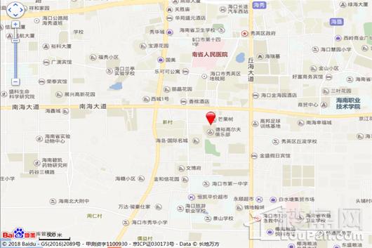 罗牛山祥源城交通图