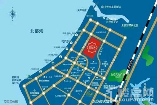 汇艺·蓝海湾交通图